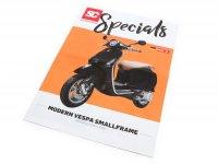 Dépliant -SC Specials: VESPA Smallframe (Vespa moderne) Sprint, Primavera, S, LX, LXV (2013)- édition 01/2019 - allemand