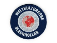 Patch thermocollant -Weltkulturerbe Blechroller-