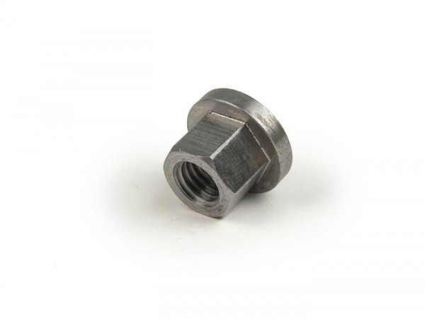 Clutch nut -OEM QUALITY M10 with collar Ø=20.5mm, WS=14mm- Vespa GS150 / GS3, GS160 / GS4 (VSB1T), SS180 (VSC1T)