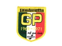 Toppa  -LAMBRETTA GP 1961-71- 65x80mm