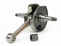 Crankshaft -MAZZUCCHELLI Racing (rotary valve) K2D 60mm stroke- Vespa PX200