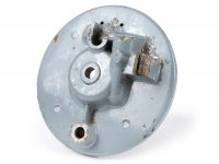 Front hub back plate -LAMBRETTA drum brake- LI (series 1-3), LI S, SX 150, GP 125-150, DL 125-150, GP 200 (Indial models)