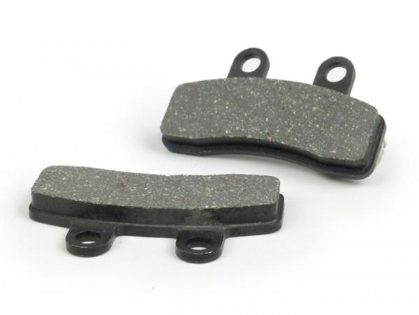 Pastillas de freno -101 OCTANE 58,3x32,5mm- Rex (Jinan Qingqi, Senke) RS-460 (pinza de freno de 2 pistones)