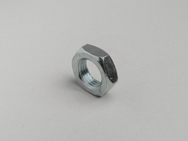 Nut flat type -DIN 439- M16 x 1.50 (used for shock absrober Lambretta LI, LIS, SX, TV, DL, GP)