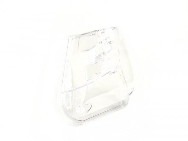 Tapa filtro de aire -BGM- Yamaha Aerox (YQ50/L, de 2 tiempos), MBK Nitro (YQ50/L, de 2 tiempos) - transparente