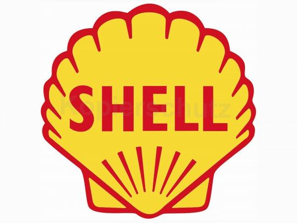 """Aufkleber -80 x 80mm- """"Shell"""""""
