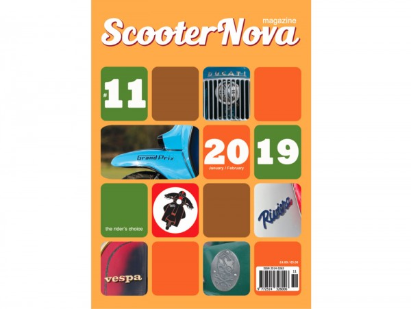 Scooter Nova Magazine - (#011) - Januar / Februar 2019