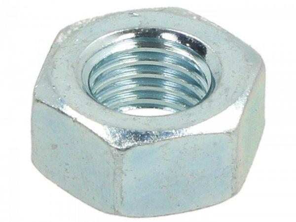 Nut -DIN 934- M8 x 1.0 (used for shock absorber/fork Vespa V50, V90, SS50, SS90, PV125, ET3)