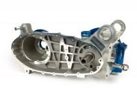 Motorgehäuse CasaCase -CASA PERFORMANCE, Blau/Silber- Lambretta GP/DL -