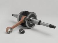 Crankshaft -CM Standard- Peugeot horizontal (with woodruff key) - JETFORCE 50 C-TECH, JETFORCE50 TSDI, SPEEDFIGHT3 50 AC/LC (2-stroke), LUDIX, VIVACITY50 NEW (2-stroke)