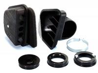 Filtre à air - boîte à air (avec filtre) -POLINI- Vespa V50, PV125, PK50, PK80, PK125 (Dellorto SHBC 16mm, SHBC19mm, Polini CP)
