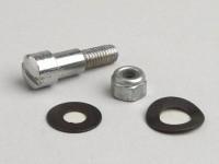 Brake/clutch lever screw -OEM QUALITY- Vespa V50, SS50, 50 Special, V90, SS90, Super (VNC, VBC), GT125 (VNL2T), GTR125 (VNL2T), PV125 (VMA1T), Sprint150 (VLB1T), SS180 (VSC1T), Rally180 (VSD1T), Vespa Rally200 (VSE1T)