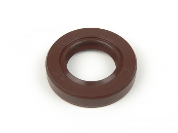 Wellendichtring 20x35x7mm -FKM- (verwendet für Kurbelwelle in Quattrini Motorgehäuse Lichtmaschinen- und Kupplungssseite Vespa PK, V50, PV125, ET3)