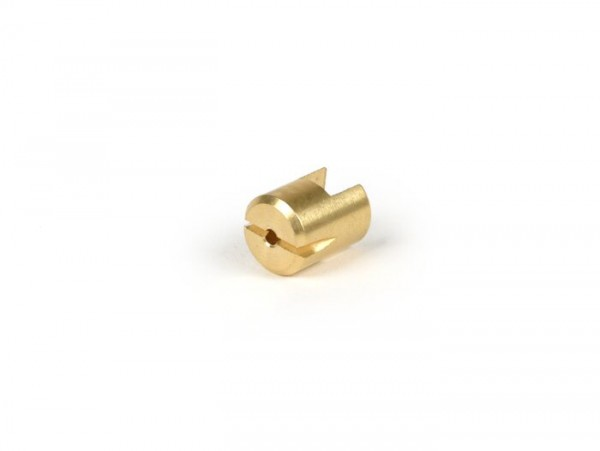 Clutch pressure pad -MAURO PASCOLI- Vespa Wideframe V15, V22M-V33, VM, VN, VL, VB1, VGL1 - Ø=12.5mm, L=16.1mm