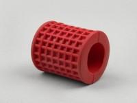 Kickstartergummi -OEM QUALITÄT- Vespa Largeframe - geriffelt (rund) - Rot