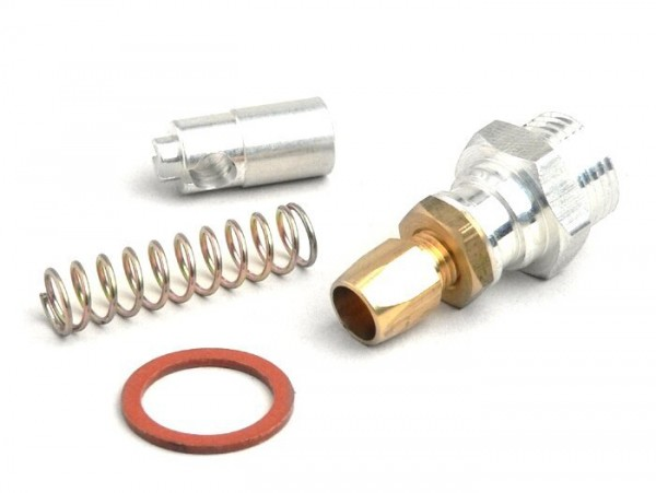 Cable choke kit -BGM ORIGINAL for PWK / MIKUNI- TMX 30, TMX 32- (bgm, Stage 6, Keihin, Koso), Polini CP - metal