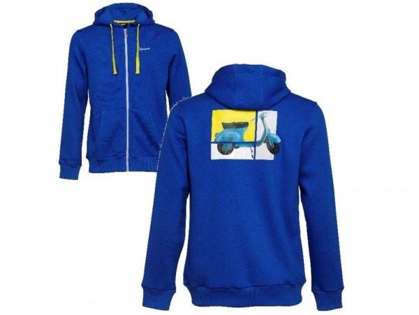"Hoodie -VESPA ""Heritage Collection""- blue  XL"