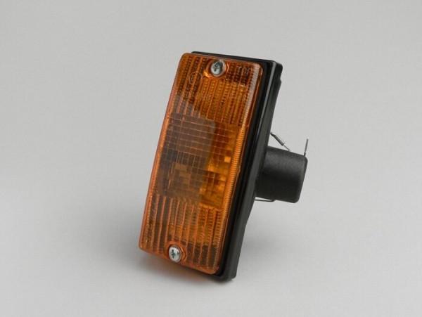Blinker -PIAGGIO- Vespa PX80, PX125, PX150, PX200, T5 125cc vorne rechts - Orange