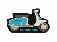 Fußmatte (für Haustür) -LAMBRETTA- blau