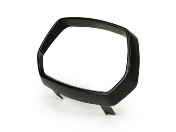 Scheinwerferzierring -MOTO NOSTRA- Vespa Sprint (2013-) - Kunststoff, schwarz matt