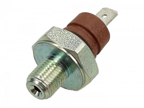 Sensor de presión de aceite, l=42,8 mm, M10x12mm, SW=21mm -PIAGGIO- Vespa GT 250 (ZAPM45102), Vespa GT L 125 (ZAPM31100, ZAPM31101), Vespa GTS 125 (ZAPMA3100, ZAPMA3200, ZAPMA3700), Vespa GTS 150 (ZAPMA3200, ZAPMA3100), Vespa GTS 250 (ZAPM45100, ZAPM