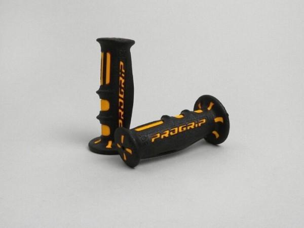 Griffe -PROGRIP SG-601 Ø=22/24mm- Schwarz/Orange