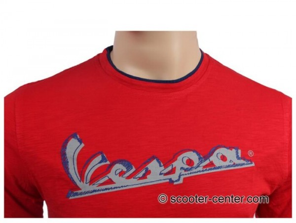 T-Shirt -VESPA Original- rouge - M