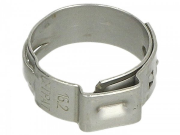 Schlauchschelle Ø=16.2mm (Einohrschelle) -PIAGGIO-