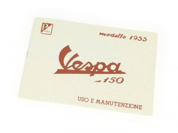 Owner's manual -VESPA- Vespa 150 (1955)