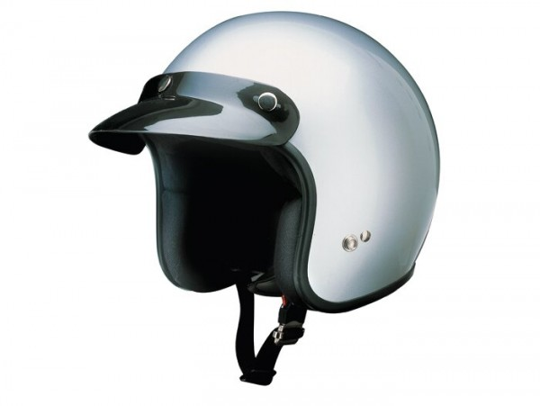 Helm -RB-710- Silbern - XS (53-54 cm)