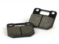 Pastiglie freno -LUCAS 52.6x44.1x7.5mm - Stage6 R/T pinza freno radiale a 4 pistoni - materiale pastiglie: organico