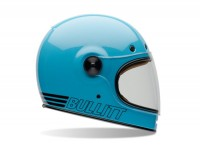 Casco -BELL Bullitt, Retro Blue- casco integrale, blu - XXL (62-63 cm)
