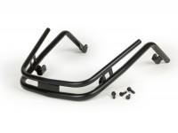 Bumper front -MOTO NOSTRA- Vespa PX80, PX125, PX150, PX200 - black