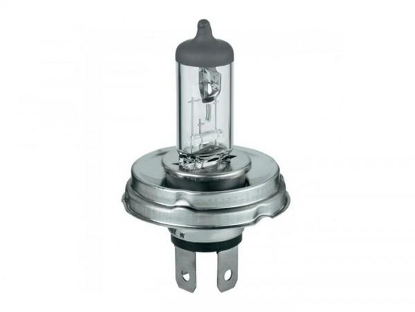 Lampadina -PHILLIPS P45t- 12V 40/45W - Halogen - bianco (usata per faro anteriore Vespa T5 125cc)