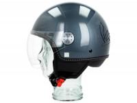 Helmet -VESPA Visor 3.0- grey dolomiti (770B) - XS (52-54cm)