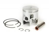 Piston -POLINI aluminium- Vespa 177/187cc - Vespa PX125, PX150, Cosa125, Cosa150, GTR, TS125, Sprint Veloce - 63.0mm - C