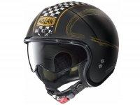 Helmet -NOLAN N21 Visor Getaway- jet helmet, flat black - M (57-58cm)