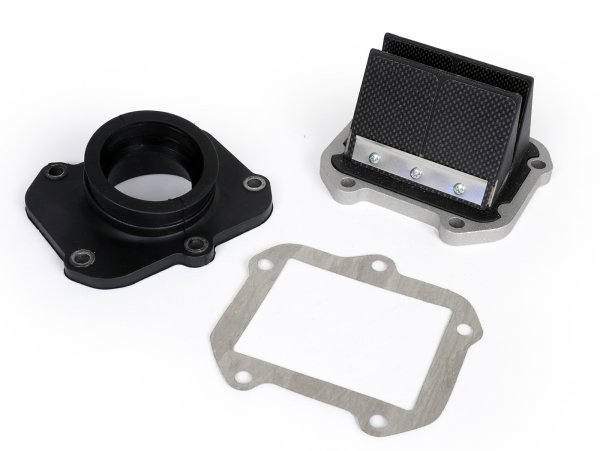 Reed valve -ITALKIT Doble Prisma- Aprilia RS125 fits also Parmakit W-force