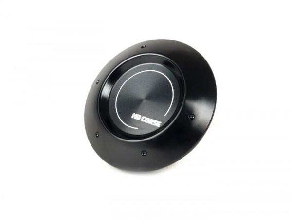 Cover for wheel nut / wheel rim Ø=35mm -HD CORSE- Vespa PX (-1984 - rear), Rally, Sprint, TS, GT, GTR, GS160, SS180, V50 Special (V5B, 1972-), V50N, SS50-90, PV125, ET3, Gilera Fuoco, Piaggio Fly, Hexagon, Liberty, MP3, Sfera RST, Zip FR, Zip II, Zip