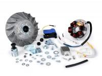 Zündung-Set -BGM Pro elektronisch Fast Touring (mit BGM Pro Polrad) 1850g- Vespa Sprint150 (VLB1T), Sprint Veloce, GT125 (VNL2T), GTR125 (VNL2T), Super, GL150 (VLA1T), VNA, VBA, VNB, VBB - 1850g