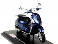 Modelo a escala -MAISTO 1:18- Vespa GTS 125-300 (2003) - azul