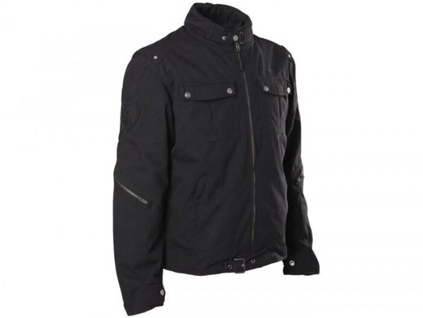 Blouson -SCEED 42 Pilots- textile, avec membrane, noir - 3XL