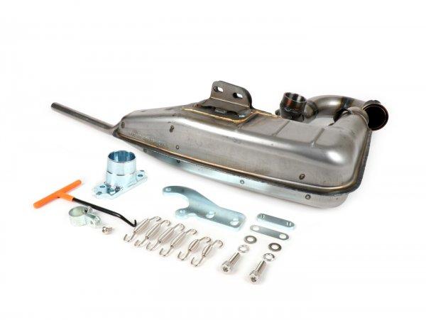 Exhaust -BGM PRO Clubman V4.0- Lambretta (1st series - 2nd series, 3rd series) - unpainted
