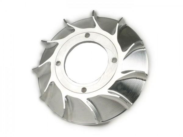 Ventilador para rotor volante -MMW aluminio CNC para Vespatronic- Vespa V50, PV 125, ET3, PK, PK S, PK XL, PK XL2