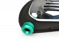 Exhaust end pipe -BIKERS- Vespa GT, GT L, GTS 125-300, GTV, GTS 125-300 Super, Sprint, Primavera, LX, LXV, S, ET2, ET4, Vespa 946 - green