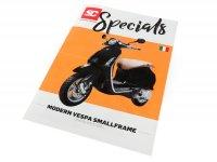 Brochure -SC Specials: VESPA Smallframe (Modern Vespa) Sprint, Primavera, S, LX, LXV (2013-)- edition 01/2019 - Italian