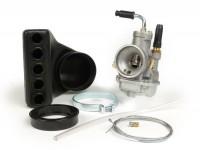 Vergaser -POLINI- CP 21mm - Vespa PV125, ET3, PK S, PK XL - passend für original Ansaugstutzen 19/19 - AW=23/30mm