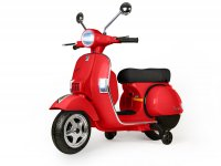 Scooter for kids -Vespa PX150- electric - red