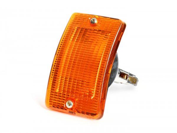 Indicator -SIEM- Vespa PK50 XL, PK125 XL front lhs - amber