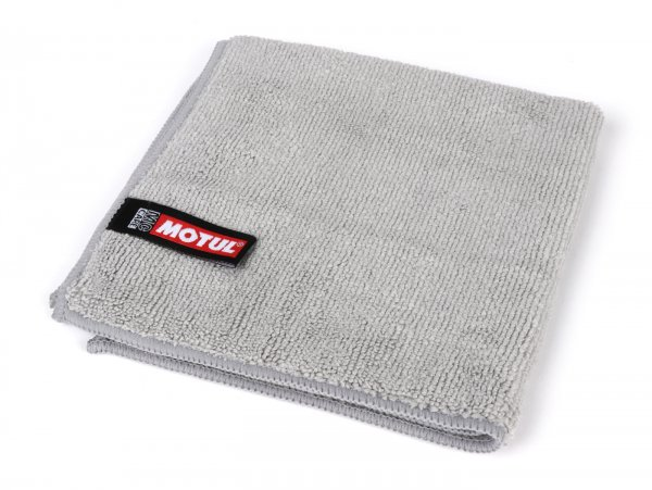 Microfibre cloth -MOTUL- 32x32cm, grey